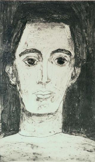 Portrait XIV - Young Picasso by Gloria Ducás