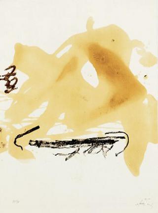 A.L. Aparicions by Antoni Tàpies