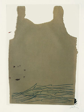 Aparicions 6 by Antoni Tàpies