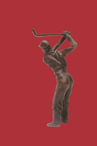 Golf Player by Dagaro