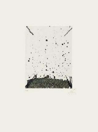 Clau - 19 by Antoni Tàpies