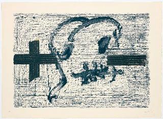 Llambrec - 7 by Antoni Tàpies
