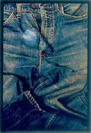 Jeans by Tony Oursler