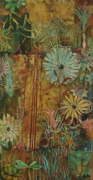 Homage to Korin I by Cynthia Fusillo