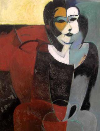 Figure and Coffee by Ernesto Maguiña Gómez