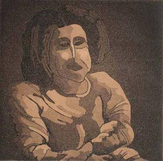 Woman IX by Ernesto Maguiña Gómez