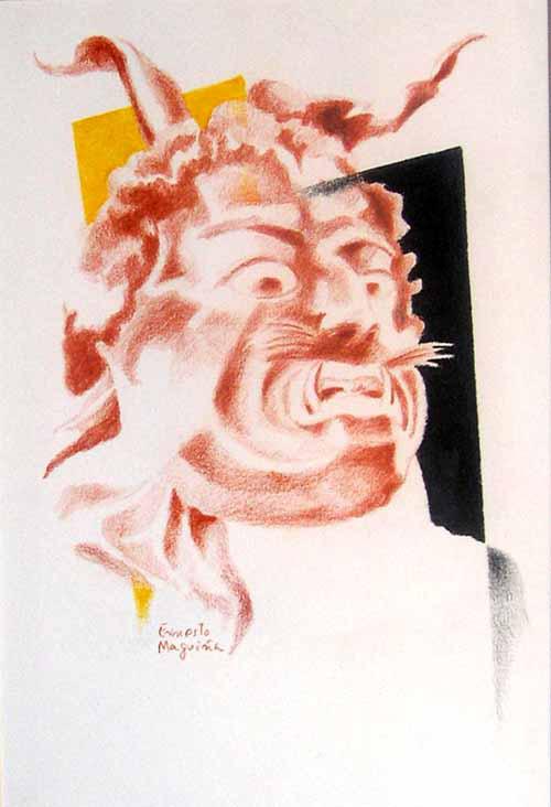 Dimoni III by Ernesto Maguiña Gómez