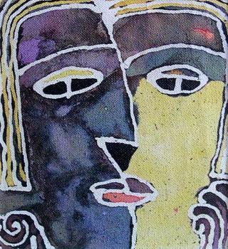 Batik V by Ernesto Maguiña Gómez