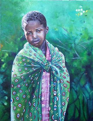 Masai Girl by Hilary Dunne