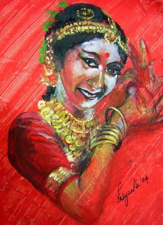 Nartaki by Priyanka Gupta