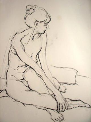 Nude VIII by Tony Heath