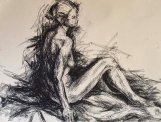 Nude IX by Tony Heath