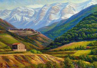 Mountain III by Yuri Fomichov