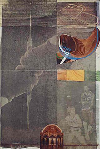 Untitled from Arcanum Portfolio 03 by Robert Rauschenberg