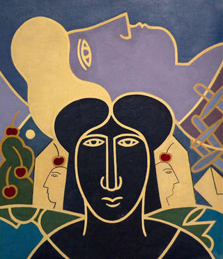 Two Women by Jacoba