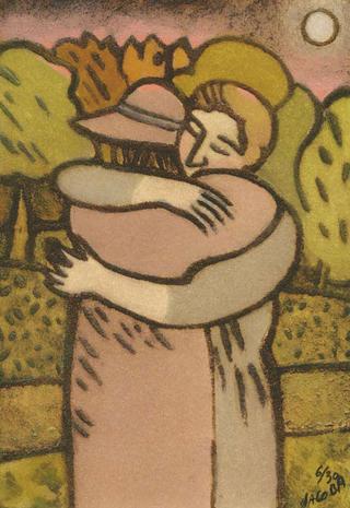 The Hug by Jacoba