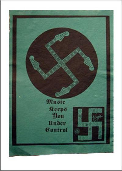 Music Keeps You Under Control Original Art By Jamie Reid
