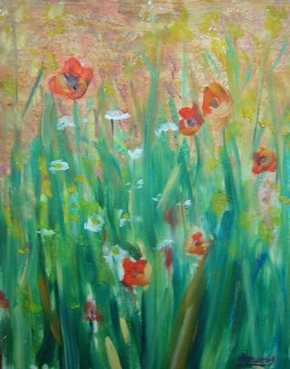 Morning Poppies by Roberto Donderis Albert