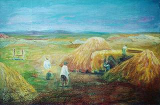 Laboring in the Era, Castilla by Paulino Lorenzo Tardón