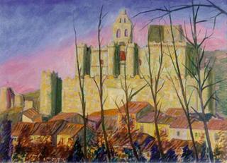 Castle of Turegano, Segovia by Paulino Lorenzo Tardón