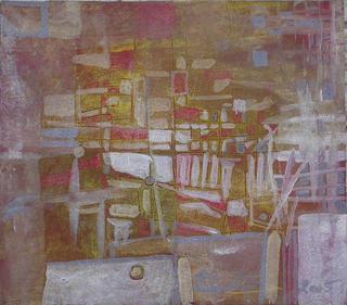 Crossings II (Triptych ) by Paulo Morfin
