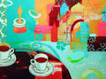 Coffee with Castles by María Burgaz