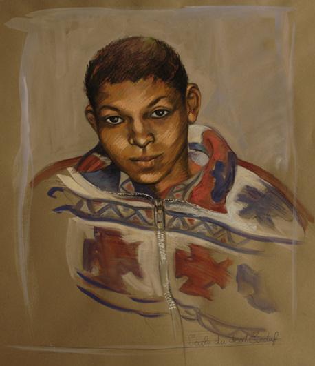 Boy from Tinduf III by Marta González Martín