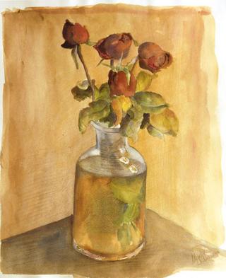 Roses I by Marta González Martín