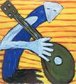 O músico by Menchu Lamas