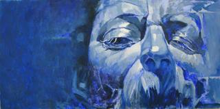 The Maestro in Blue by Alaa Hegazi