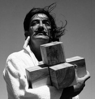 Dalí Cube by Francesc Catalá Roca