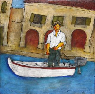 In the Harbor by David Price