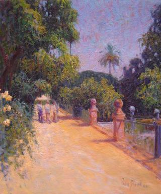 Walk through the Alcázares by Rosa Ripoll