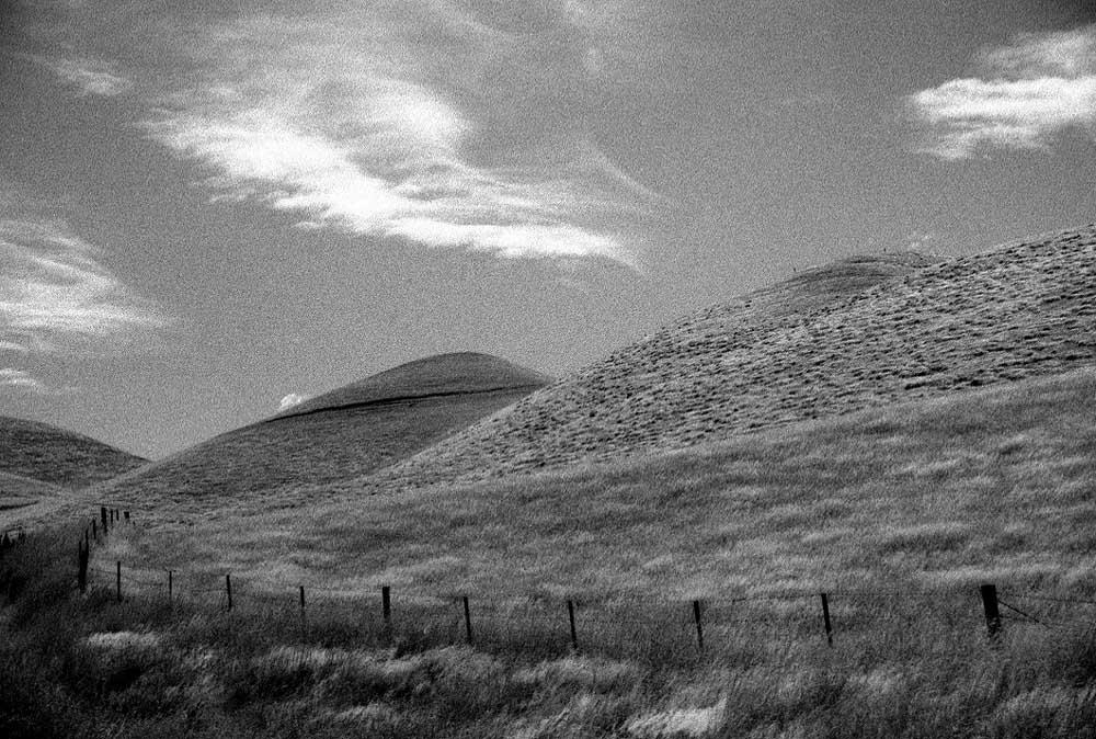 Hills near Cheviot, New Zealand by Jamie Ball