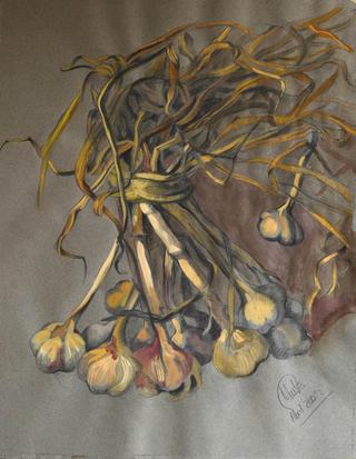 Garlic by Marta González Martín