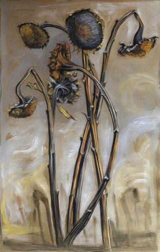 Sunflowers in Winter / I by Marta González Martín