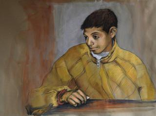 Boy from Tinduf I by Marta González Martín