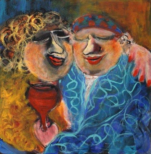 Sabbat Evening 3 by Malka Tsentsiper