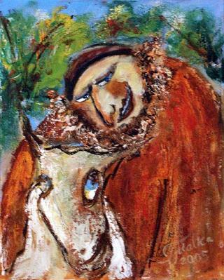 Talk with a Goat by Malka Tsentsiper