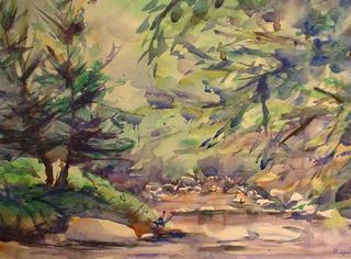 Brook by Miguel Oliver Ferrer