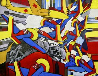 Aerial Combat by Luis Cabrera