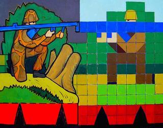 Duelistas Legos by Luis Cabrera