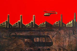 Industrial Landscape by Luis Cabrera