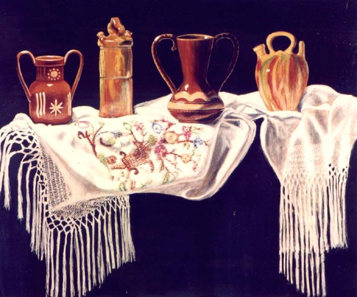 Ceramic Jugs by Salvador Freixas