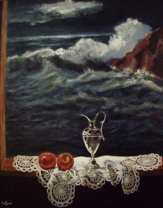 Finestra al Mar by Salvador Freixas