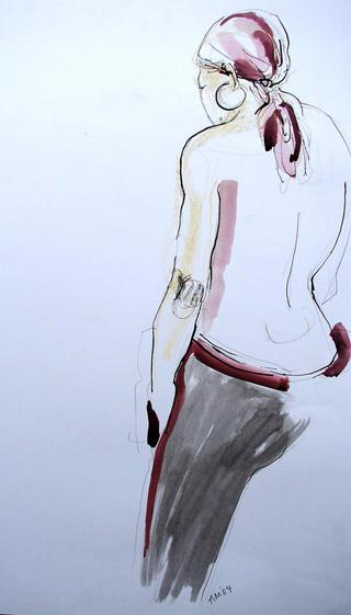 Caracas Woman by Alex Mackenzie