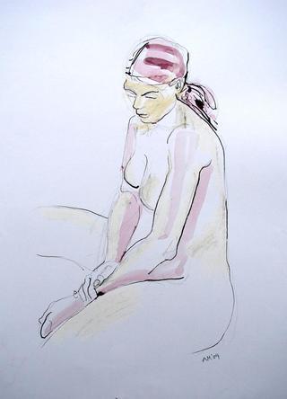 Woman Wrist Holding by Alex Mackenzie