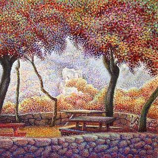 Landscap by Shulamit Halfon