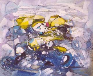 Symphony in Blue by MUZ-MARTINEZ