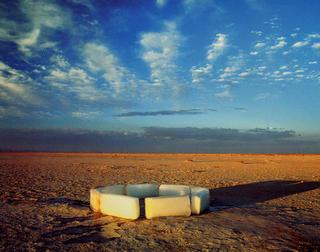 Polar Circle in the Desert by Alfredo De Stéfano